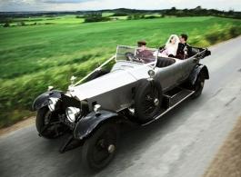 Vintage Rolls Royce for weddings in Rochester